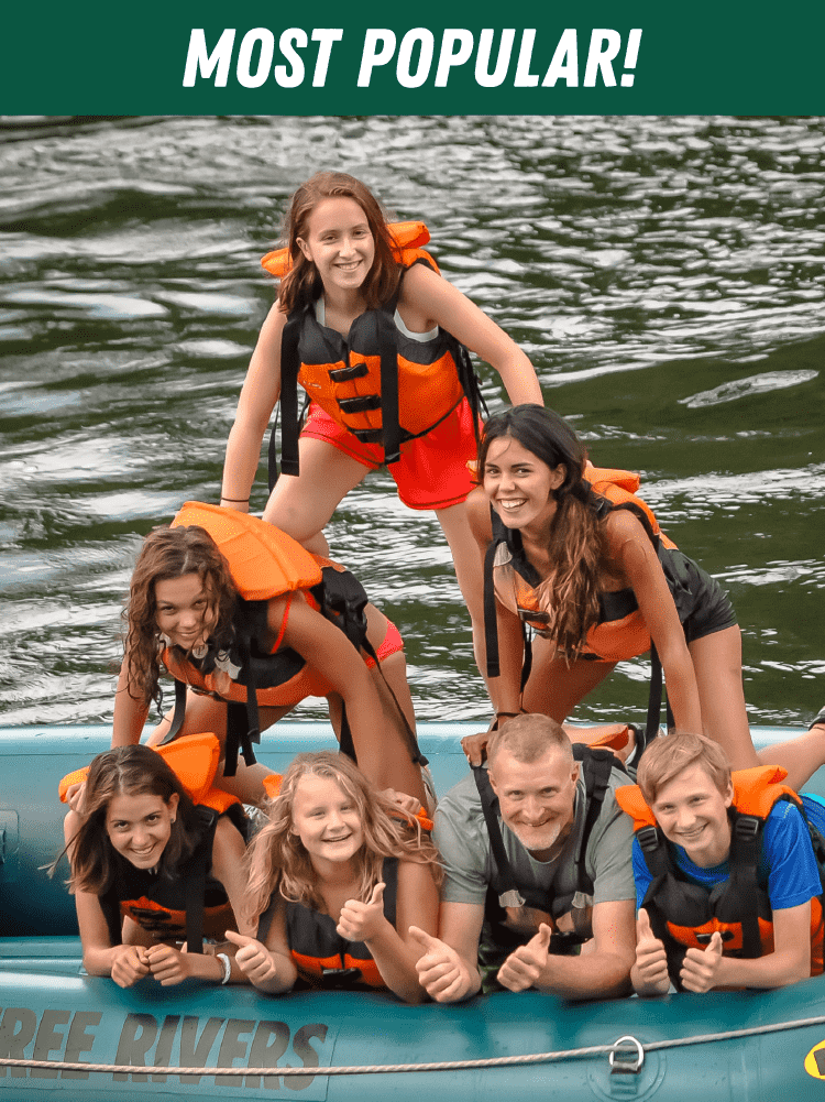Most Popular Maine Rafting Trips